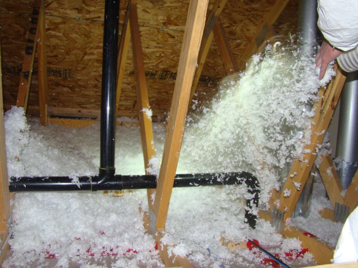 Blow Insulation | 4 Weather Insulation & Roofing